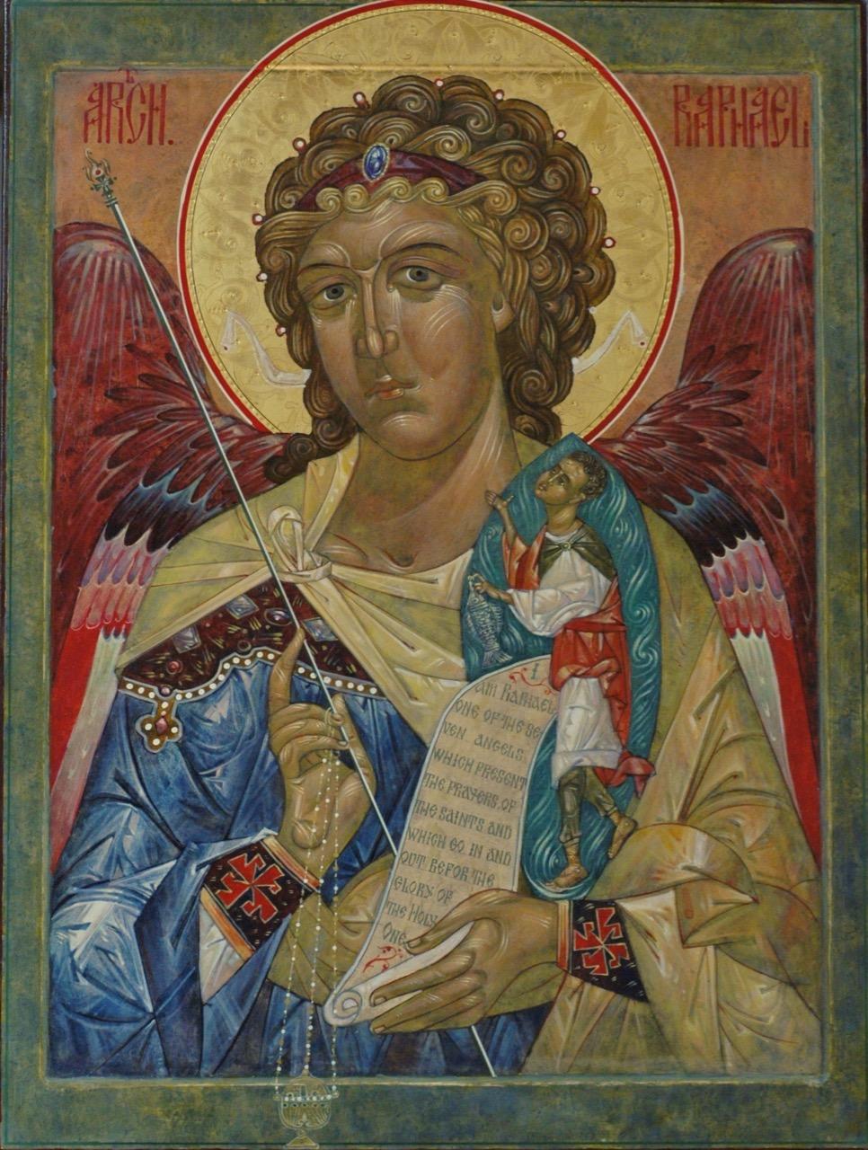 Archangel Raphael with Tobias