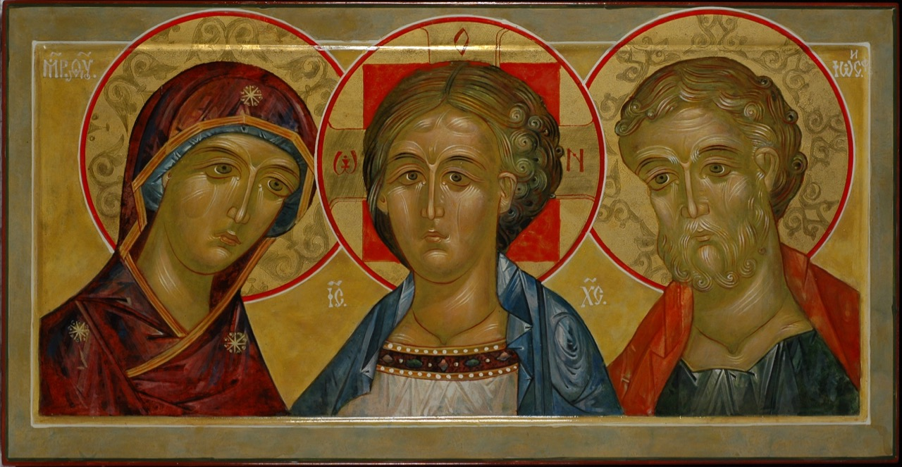 Jesus Christ with Mary and Joseph