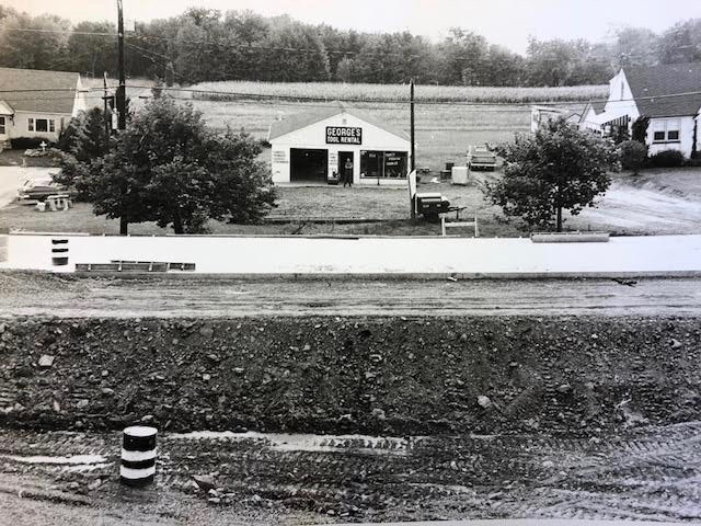 The Hatfield location shortly after Phil's ownership in 1970.