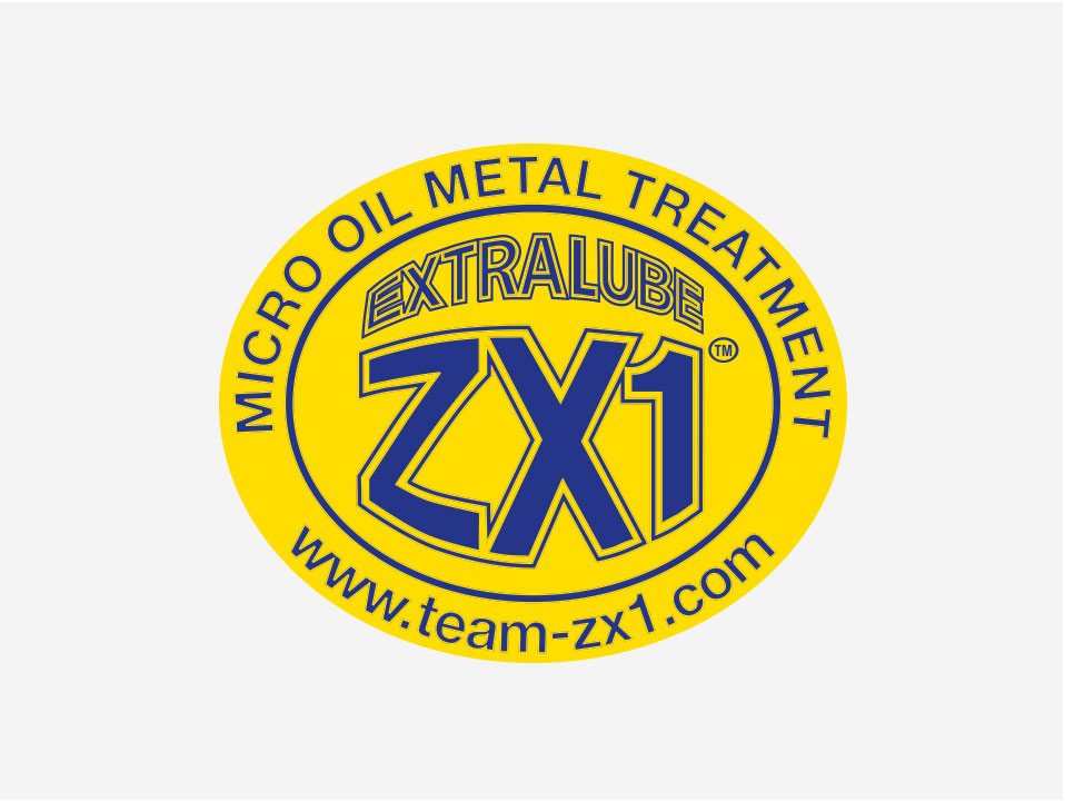 Team ZX1 - Team ZX1 produce an EXTRALUBE ZX1 Micro Oil Metal Treatment that is a friction eliminator. EXTRALUBE ZX1 Micro Oil Metal Treatment does not change the properties of the oil, or other native lubricant, but chemically bonds to the metal surfaces, modifying the friction surfaces of the metal.