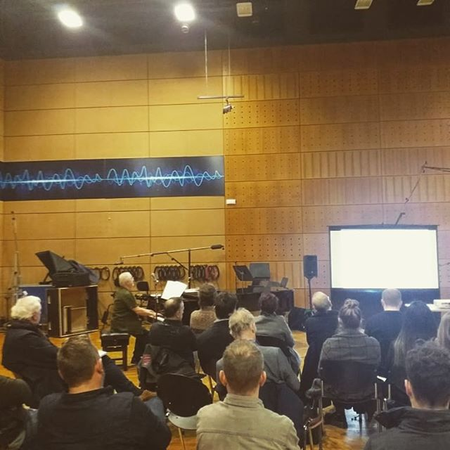 The wonderful film composer Patrick Doyle giving great insight into his creative and work processes during the Screen Composers Guild masterclass today in RTÉ studio 1.  #musicforscreenireland #filmcomposers #irishmusic #imro #patrickdoyle #screenireland