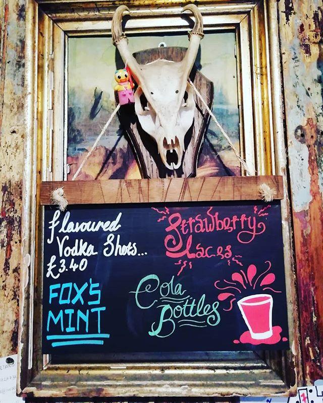 Sweety flavoured house vodkas - back by popular demand! #sweetooth #flavouredvodka #shotsshotsshots #thebellpub