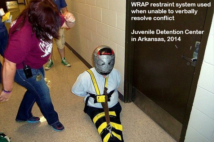 http://www.policestateusa.com/2014/juvenile-detainees-locked-in-controversial-device/