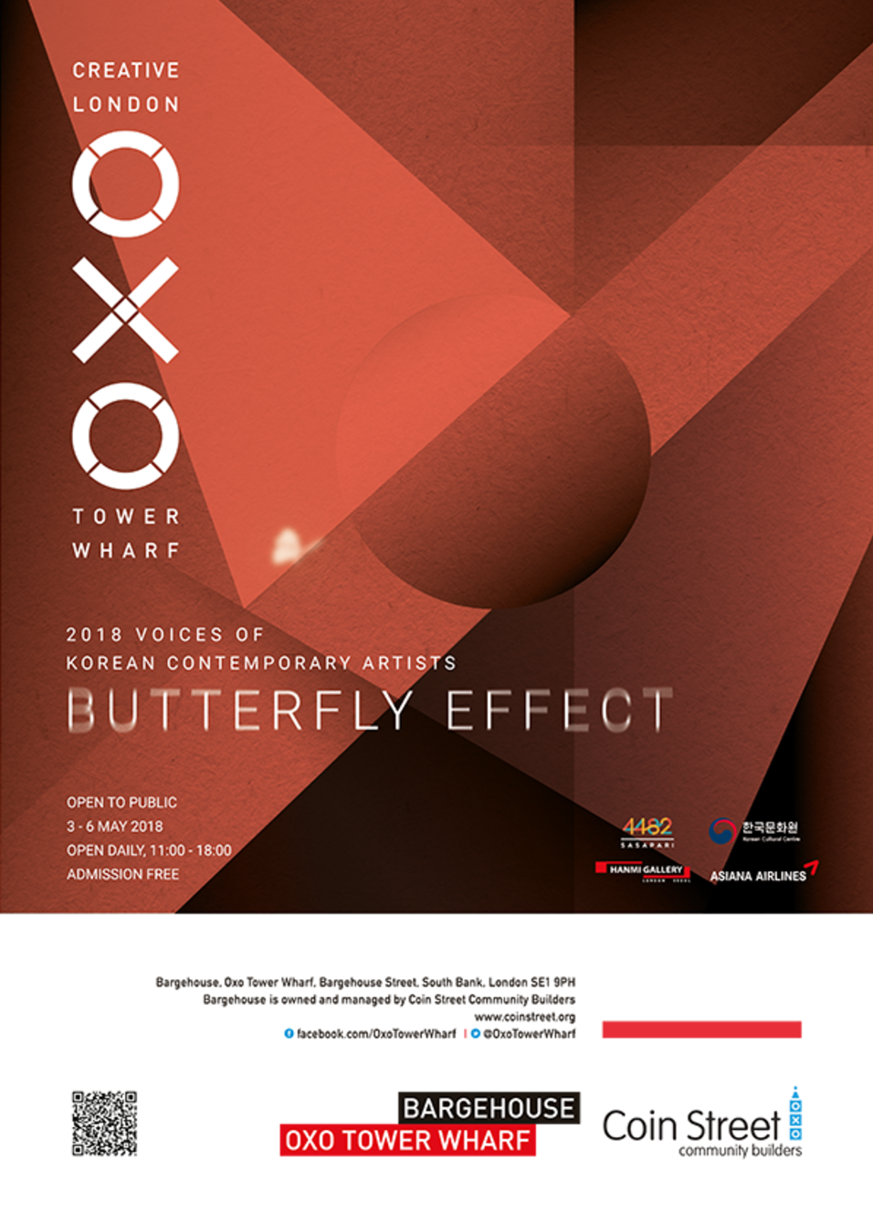 2018 Voices of Korean Contemporary Artists: Butterfly Effect, London, 2018