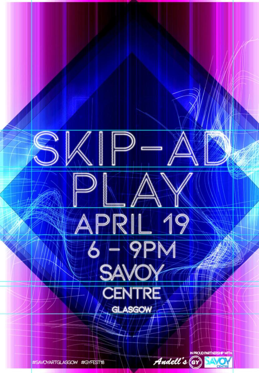 Skip-Ad; Play, Glasgow, 2018   https://www.artrabbit.com/events/skipad-play