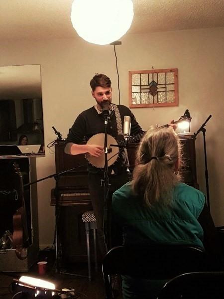 Tim Baker performing at McArthur Castle