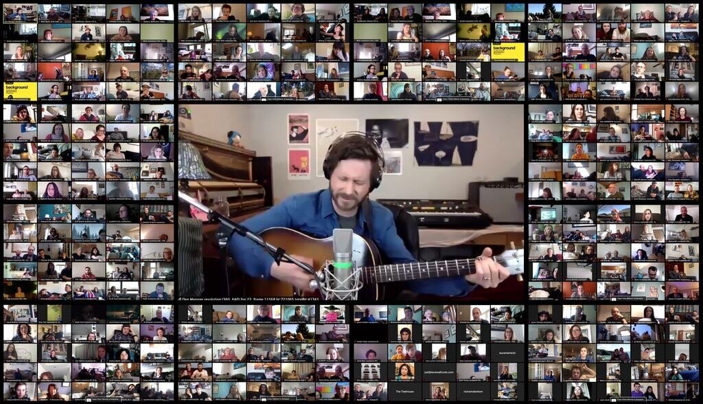 Dan Mangan and guests - created by Mark Busse