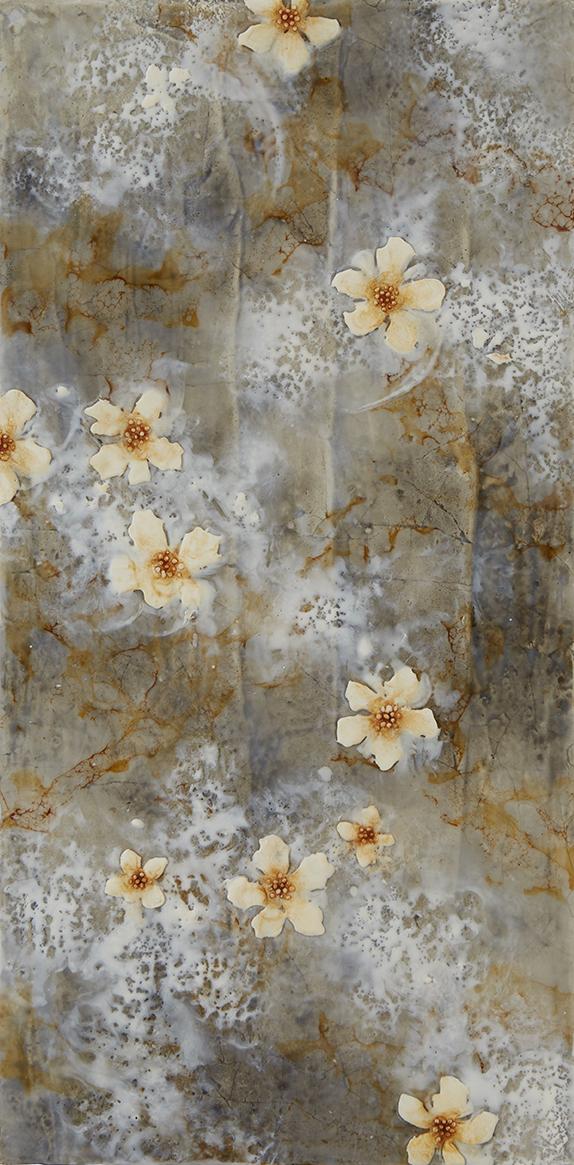 Grey Spring Flowers