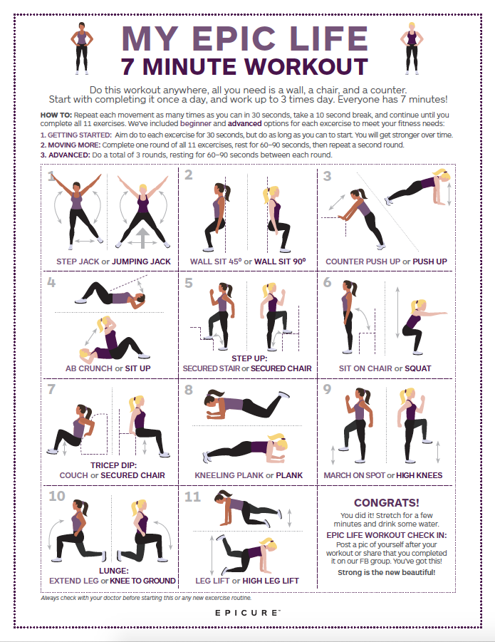 Epicure 7-minute Workout