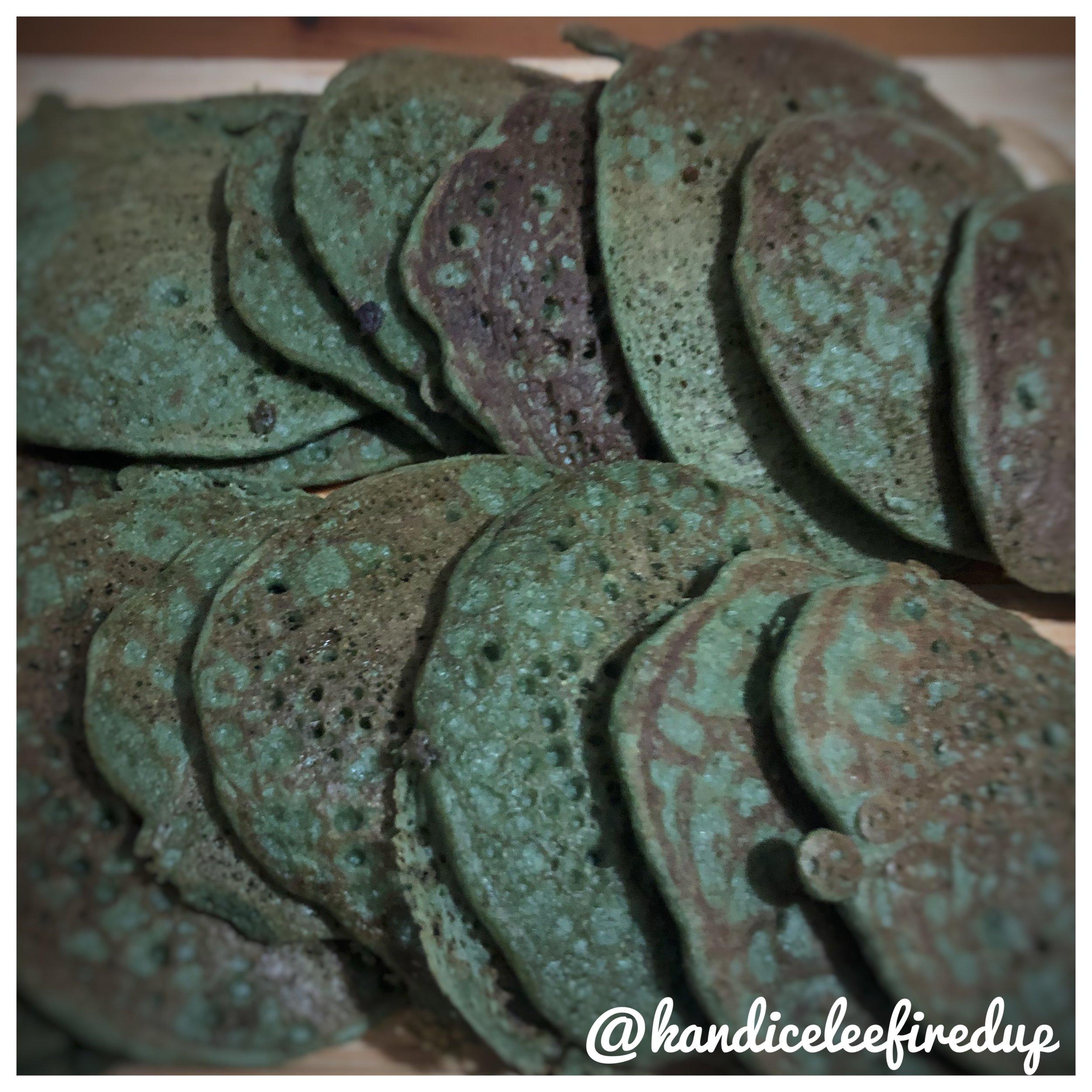 KLFU Super Green Pancakes