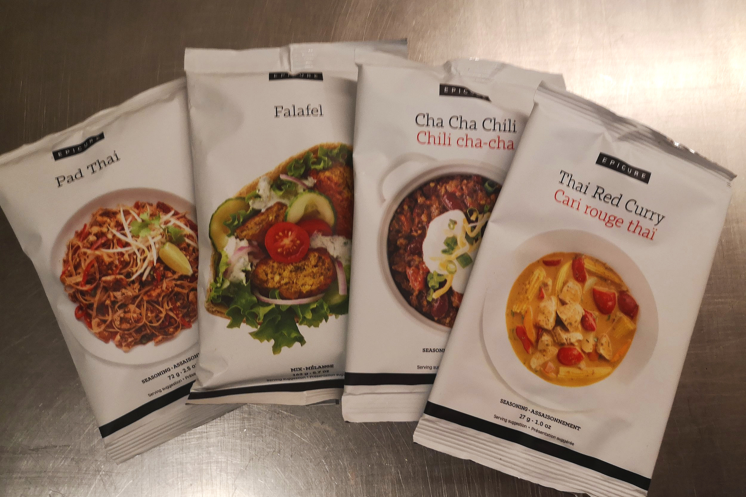 Epicure's Meal Solutions make quick work of dinner and often only use one dish!