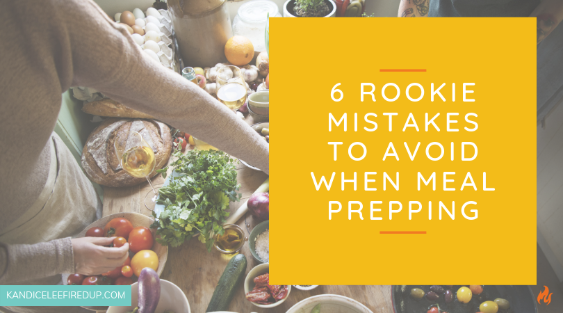 6 Rookie Mistakes to Avoid When Meal Prepping