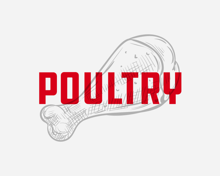 With our poultry line being extremely flexible, we can cut and pack product to suit every chef's needs. From wings to cutlets, our birds are always flavorful. - WE PROVIDE:Sized Breasts, Fajita Meat, Half Chicken, Chicken Wings and Whole Chicken (WOGs), Special cuts