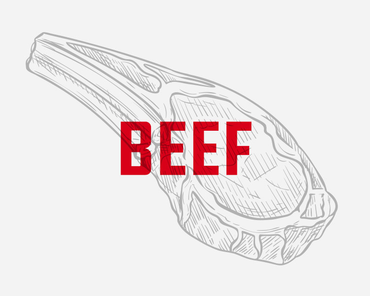 Our corn-fed Hereford, Angus beef comes from the Midwest, where the weather and feed sources are at their best. We carry a full line of Wagyu from Texas ranchers, who are producing some of the finest beef in the world. We take pride in our beef and look forward to providing for all of your needs. - WE PROVIDE: A full line of boxed beef, steaks, cutlets, fajitas, bulk and patty ground beef