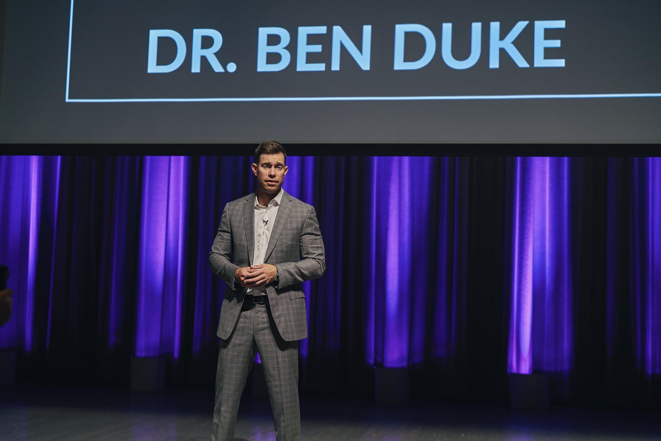 Dr Ben Duke Speaking Workshop 3