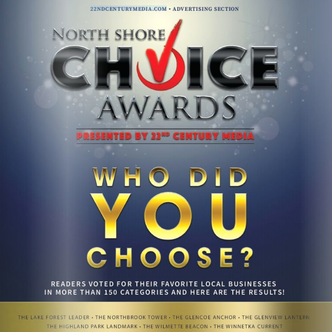 North Shore Choice Awards_22nd Century Media Cover.jpg