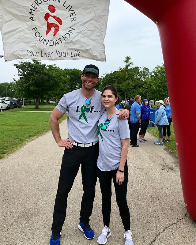 Great morning for a liver walk! . Blessed to walk with my good friend Julia. . She recently had her 2nd liver transplant. . She has amazing strength & courage. Very proud of her! . #liver #liverwalk #chicago #montrosebeach #elitewellness