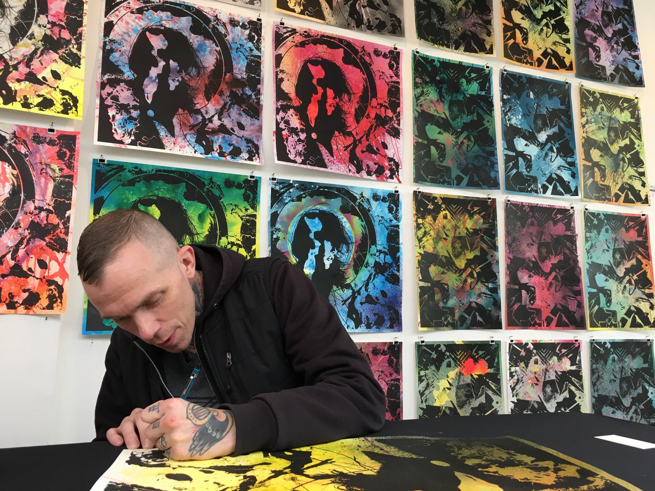 Jacob Bannon - roadburn 2018 curatormassachusetts, USA