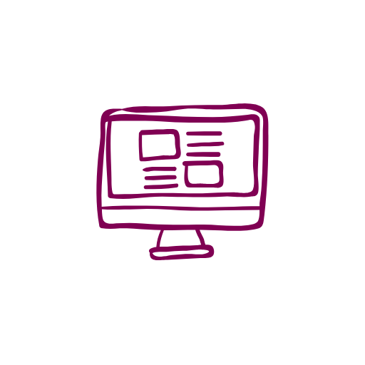 Deep_Purple_Icon_Of_Computer_With_Website_Open.png