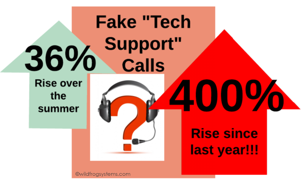 fake tech support stats