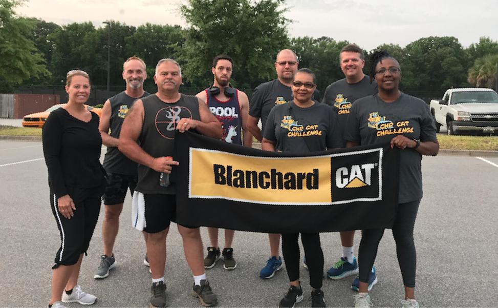 Team Acworth, the winning team of Corporate Health Partners' 2019 Atlanta City Challenge