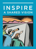 2) Inspire A Shared Vision - Leaders passionately believe that they can make a difference. They envision the future, creating an ideal and unique image of what the organization can become. Through their magnetism and quiet persuasion, leaders enlist others in their dreams. They breathe life into their visions and get people to see exciting possibilities for the future.