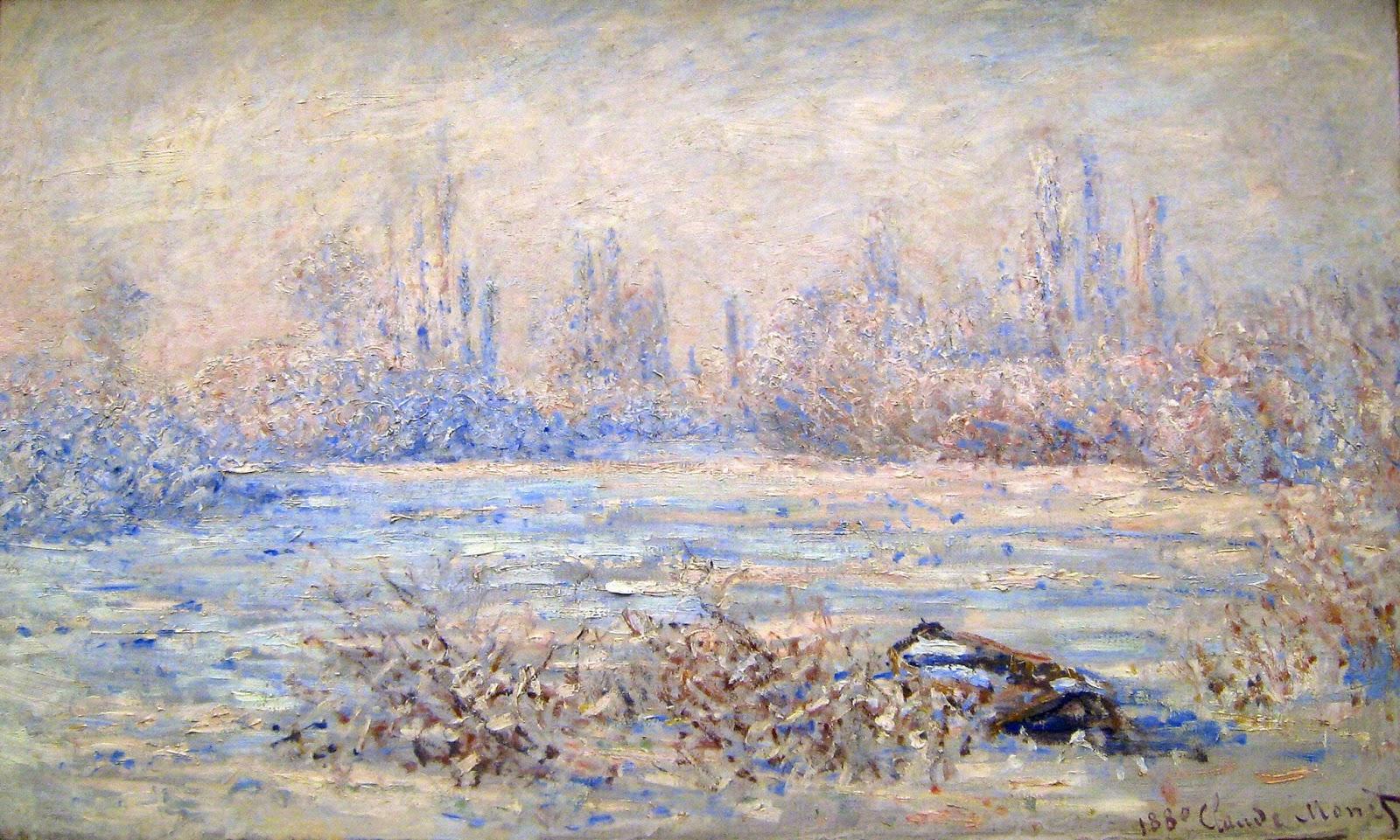 Claude Monet Frost near Vetheuil, 1880.jpg