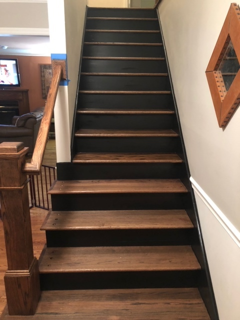 Custom Wood Stairs // Brentwood, TN