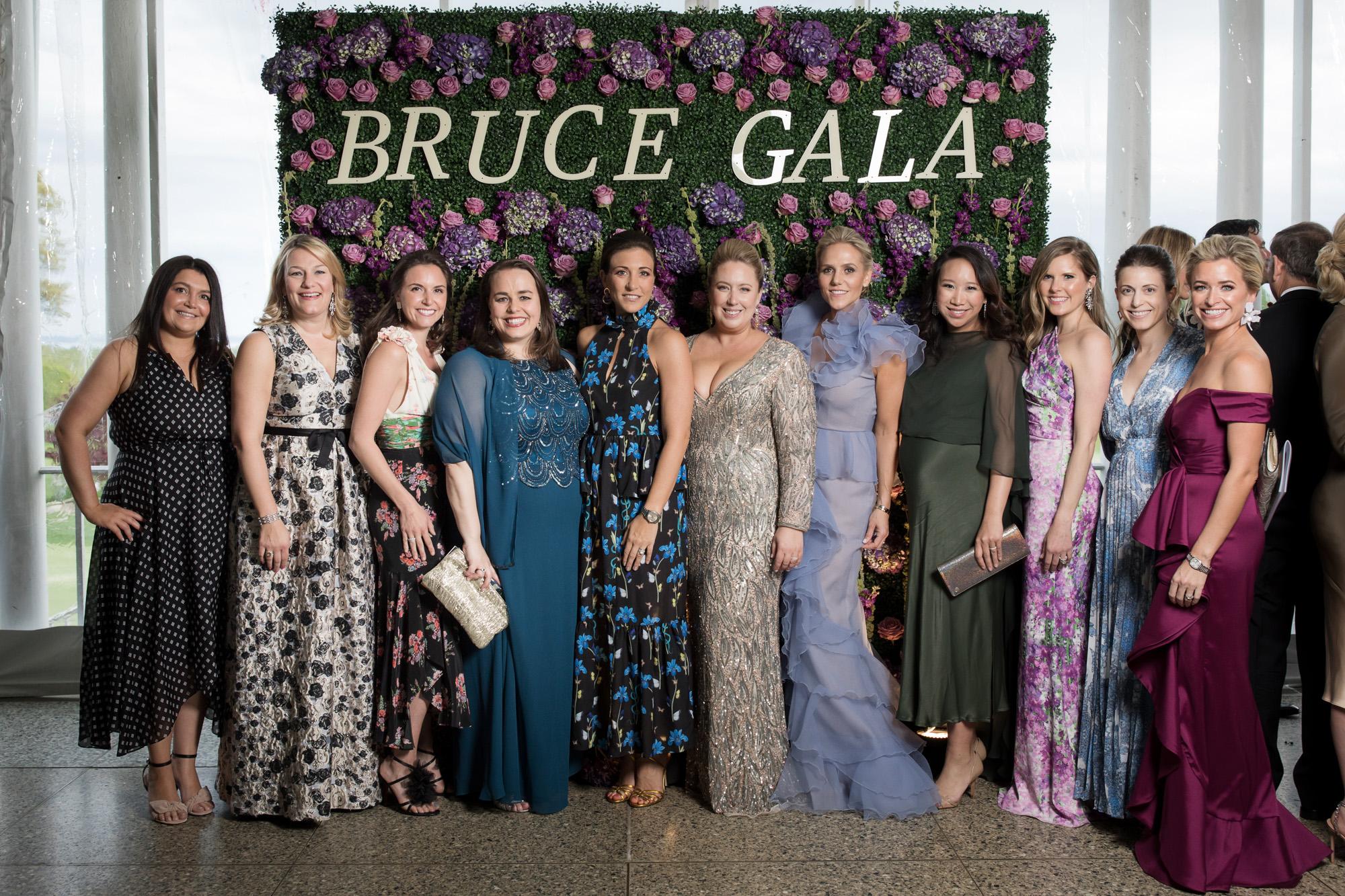 Bruce Contemporaries attend An Evening in the Enchanted Garden