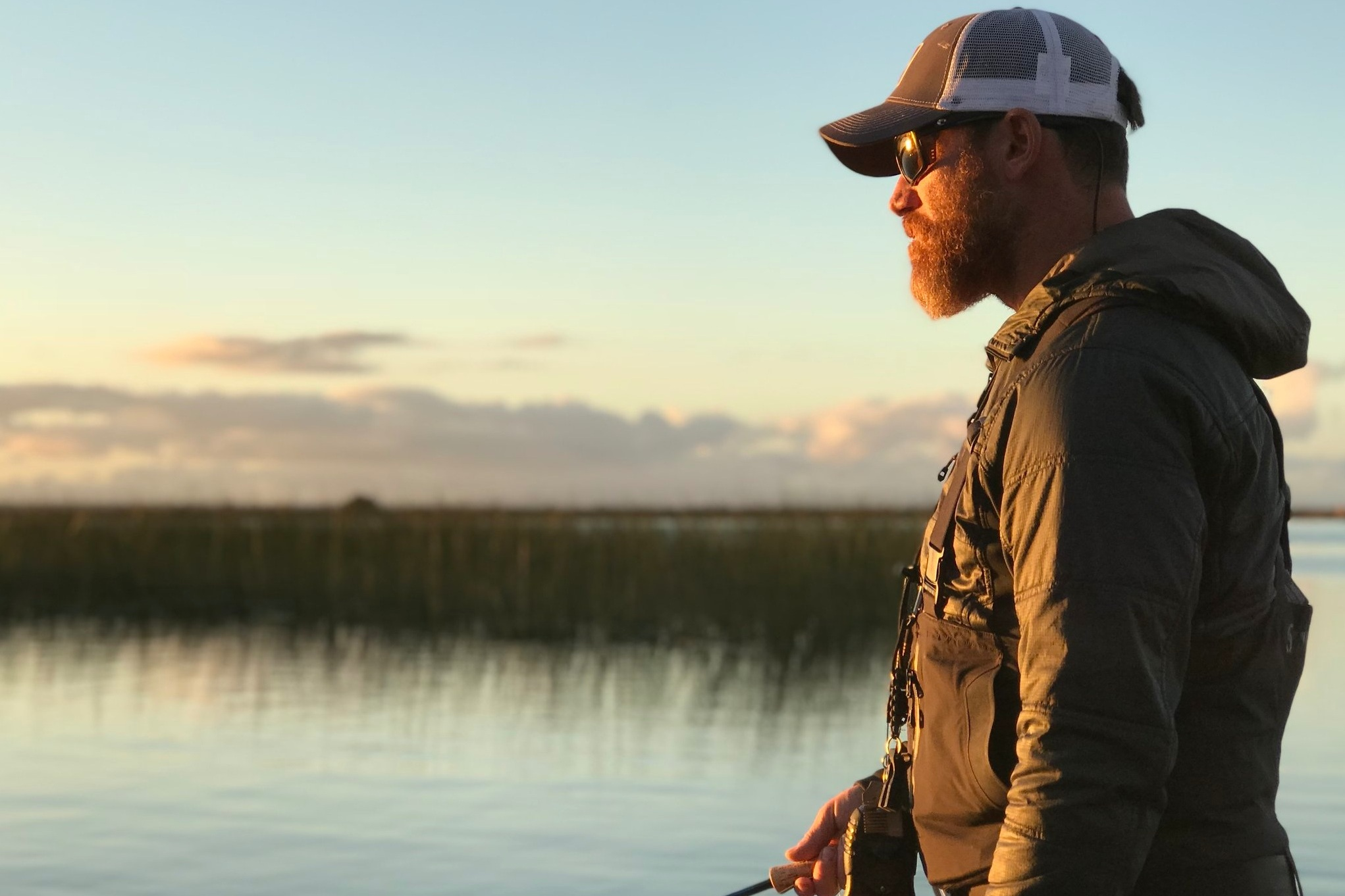 Capt. Chuck Ragan - Chuck is based out of Grass valley, CA, and is a singer and songwriter, playing solo and in the band Hot Water Music. Chuck is also a fly fishing guide, and guide for Cast Hope.