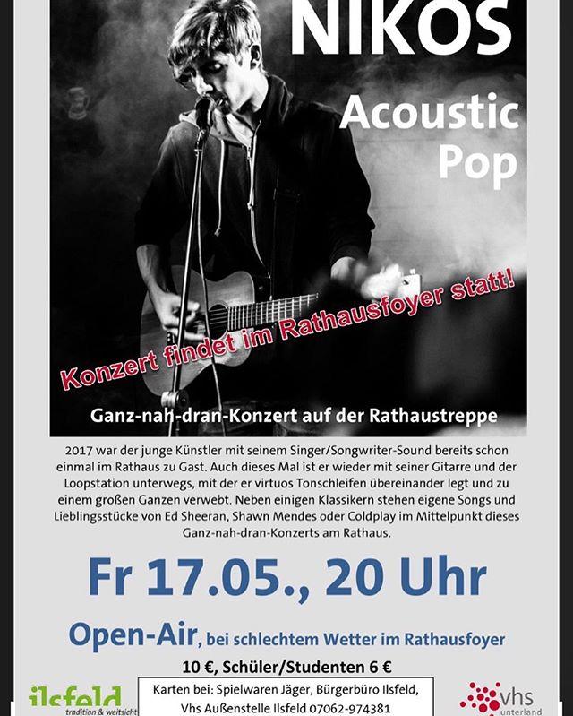 Excited for tomorrow🎸  Wer Bock hat unbedingt vorbeischauen! #singersongwriter