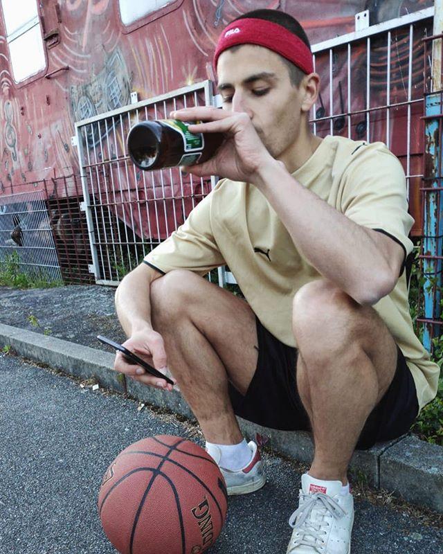"""Plays Basketball once: """"Ball is life"""""""