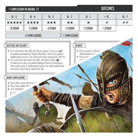 The North Sea Epilogues RPG GMs Screen -  Renegade Game Studio