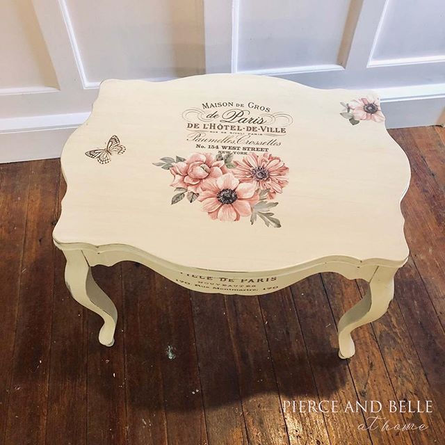This beauty is finally done and ready to find her forever home. #pierceandbelle #dixiebellepaint #dixiebelle #paintedfurniture #primadesign #primamarketing #oldtownspring #thewoodlandstx #thewoodlands #houstondesign #houstontx #springtx #conroetx