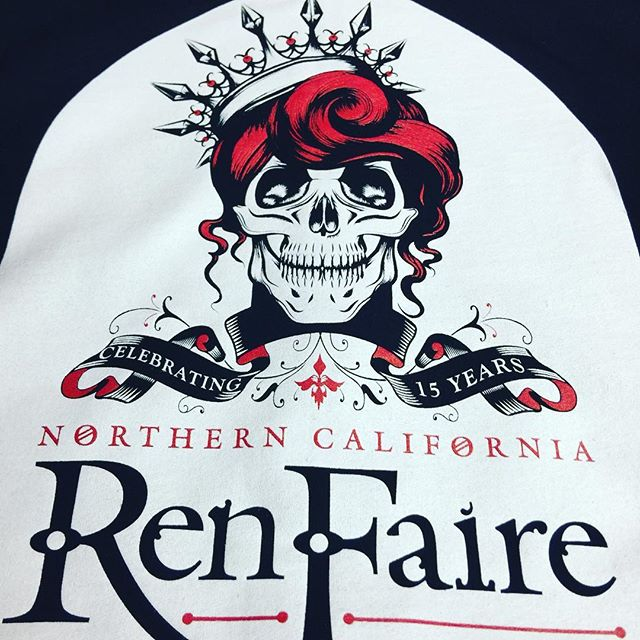 Last weekend of Ren Faire#renaissancefaire #casadefruta #faire #norcalrenfaire #screenprinting #promotionalproducts