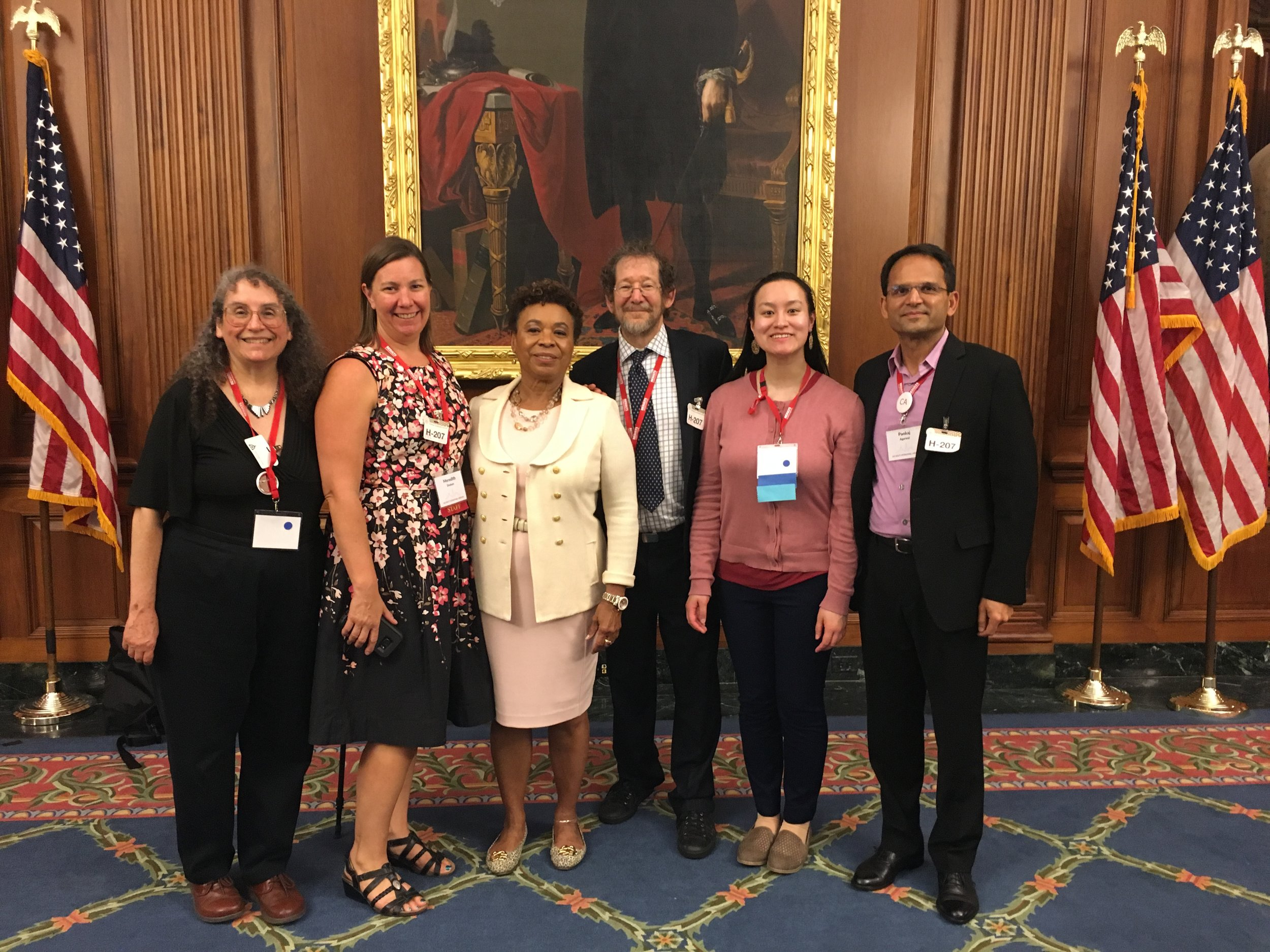 RESULTS California Volunteers meet with Congresswoman Barbara Lee at RESULTS International Conference 2018 (In Washington, D.C.).jpeg