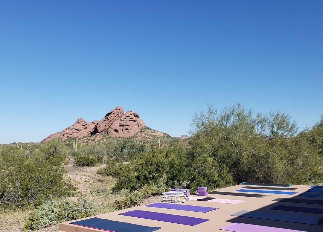 Yoga & Hiking - in Phoenix, Arizona