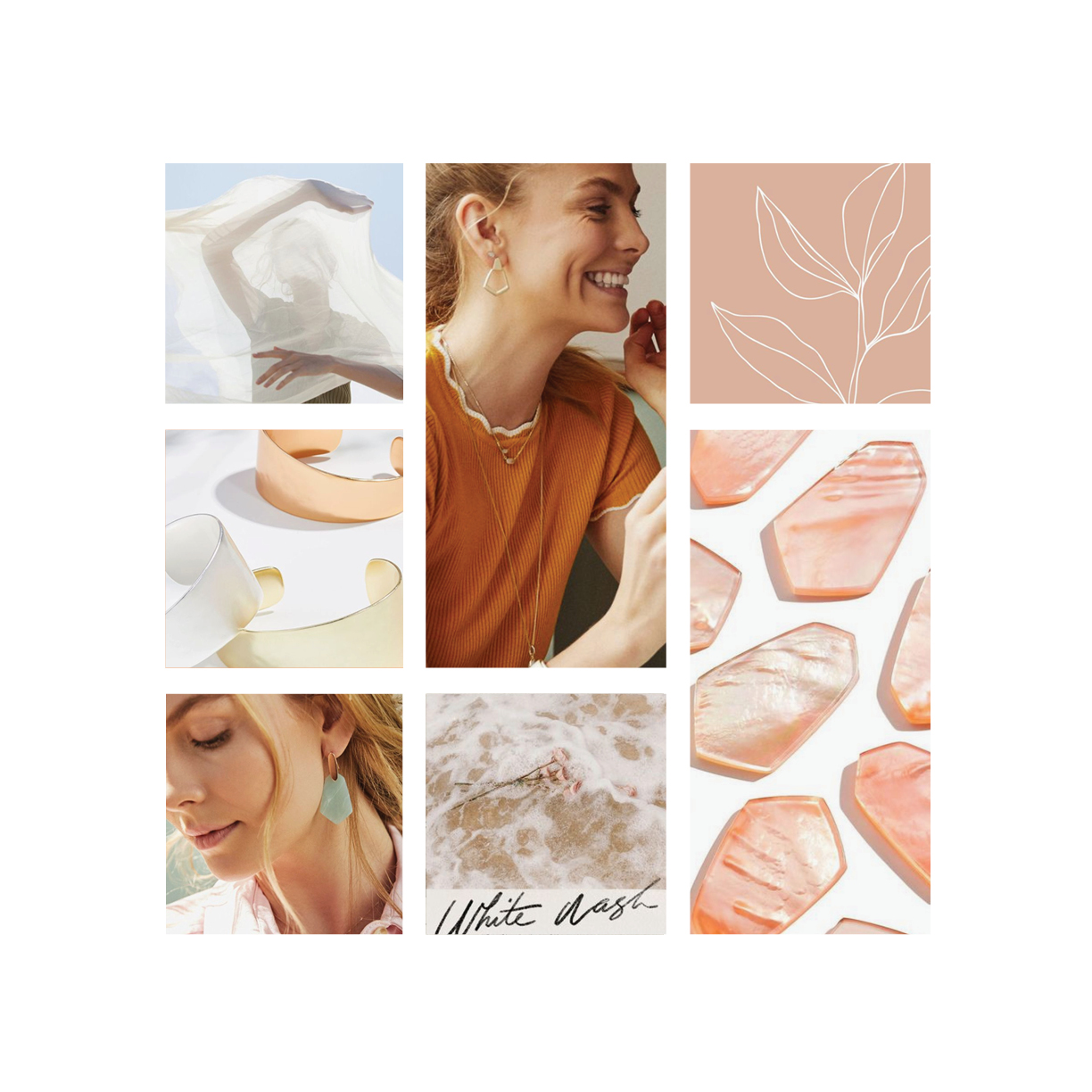 Moodboard for Kendra Scott