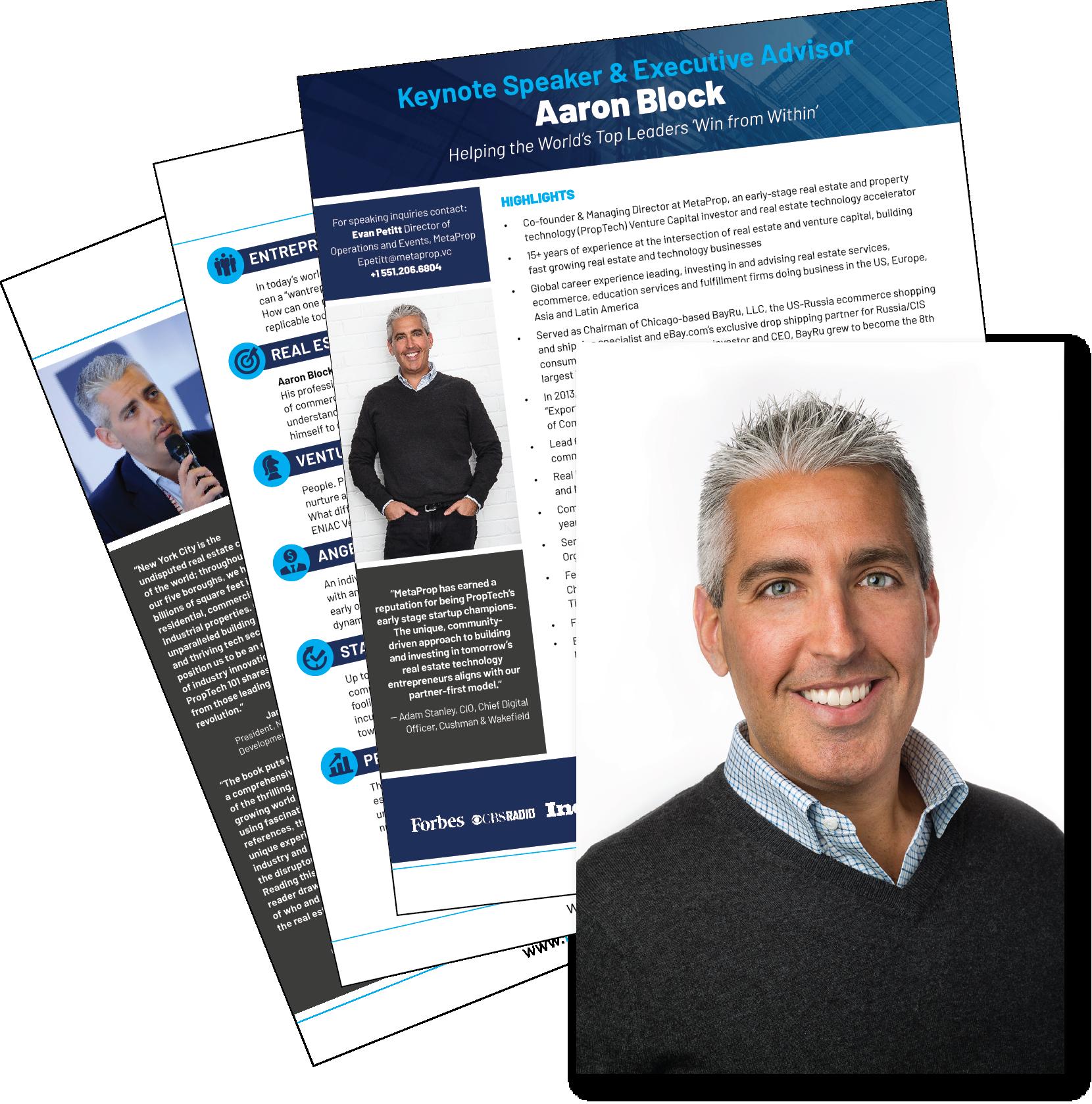 Aaron Block Speaker Kit