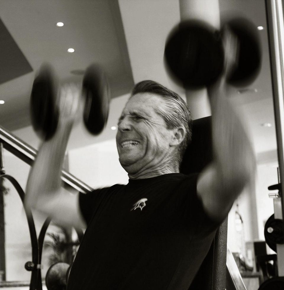 Known as Mr. Fitness, Gary Player's workout routine is as legendary as his golf career.  IMAGE COURTESY OF BLACK KNIGHT ARCHIVES