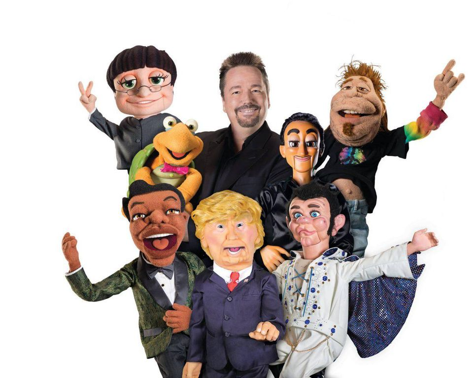 Fator and his castmates. CREDIT TERRY FATOR