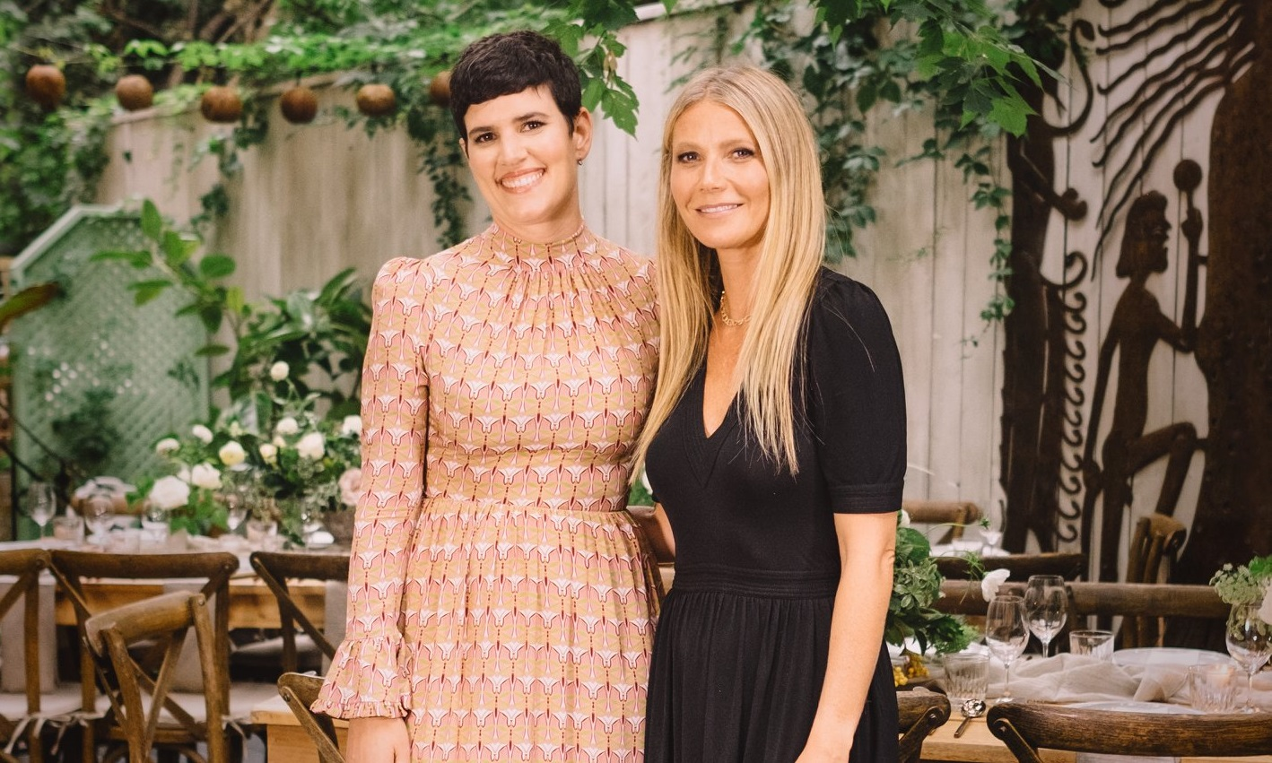 Elise Loehnen and Gwyneth Paltrow COURTESY OF GOOP