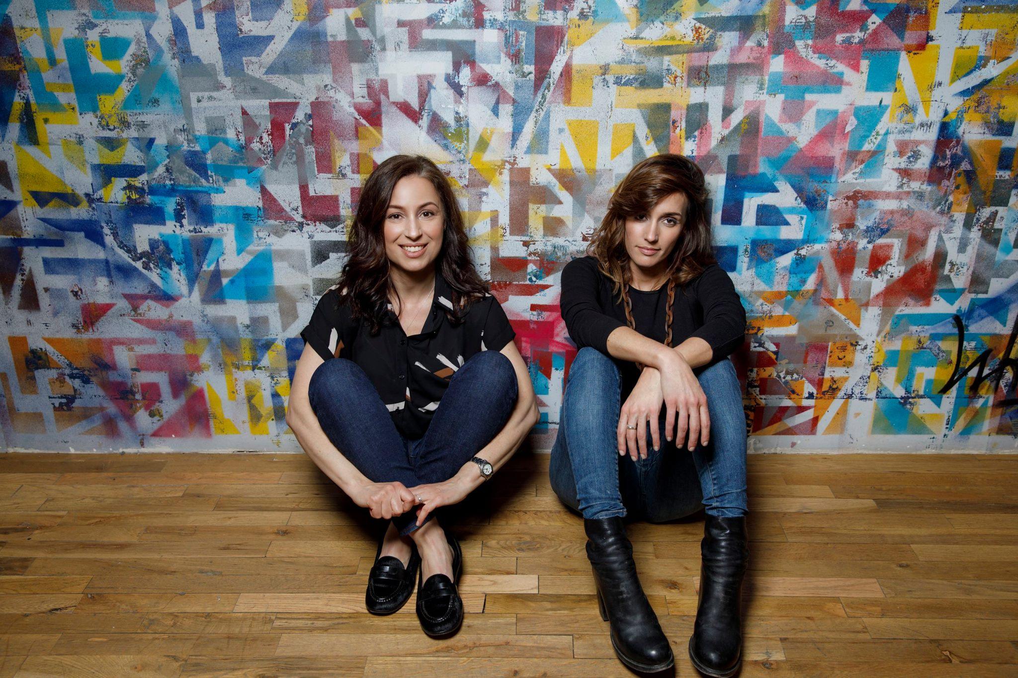 Manoush Zomorodi and Jen Poyant PHOTO CREDIT: TORY WILLIAMS