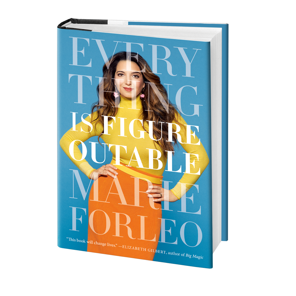 Marie Forleo's newest book Everything Is FigureoutableIMAGE COURTESY OF MARIE FORLEO