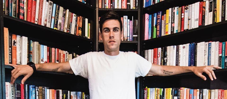 Author Ryan Holiday / PHOTO COURTESY OF JARED POLIN