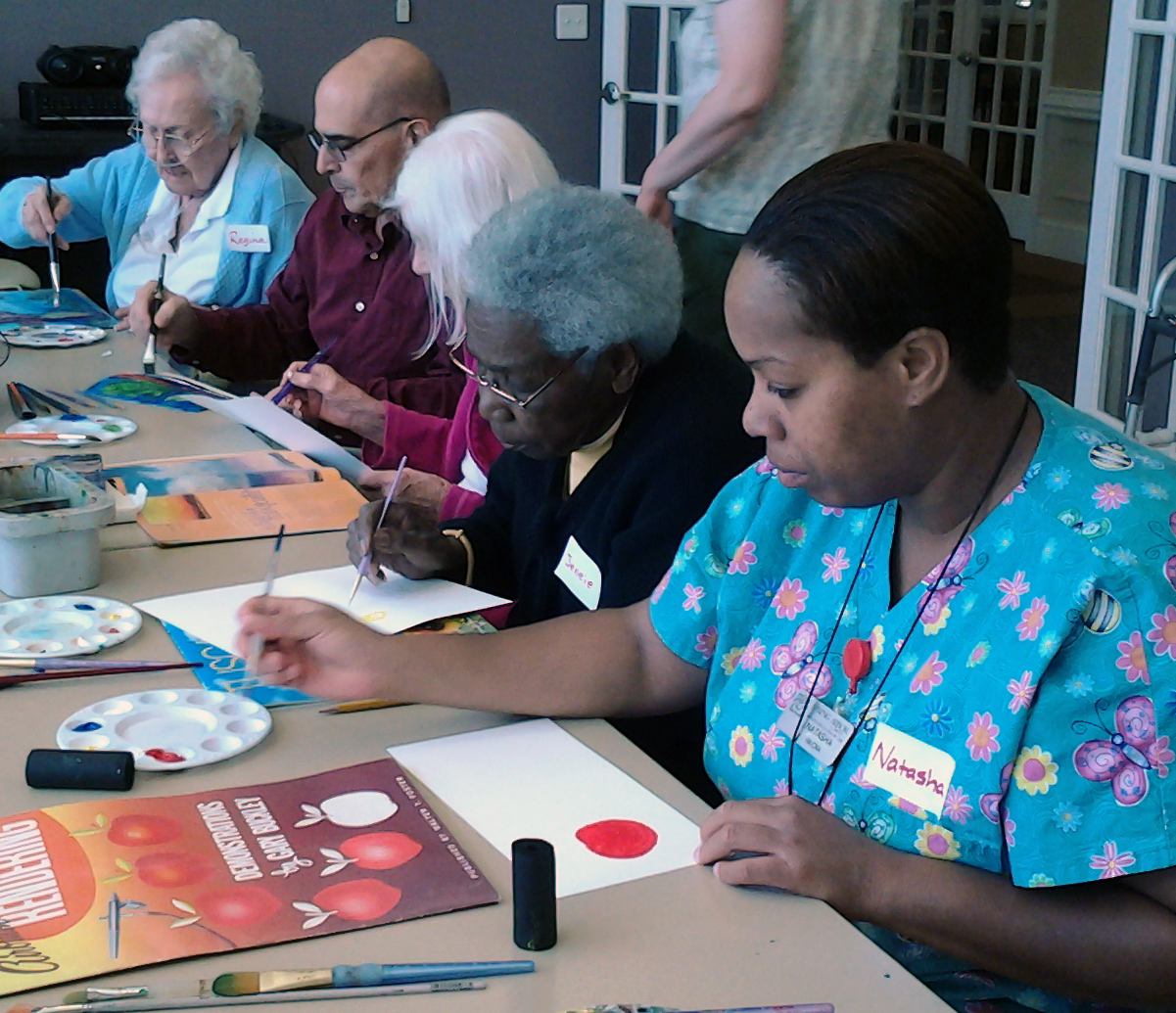 Creative Aging Network's Visual Art Program