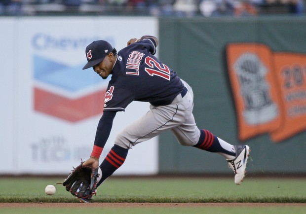 Indians Shortstop Francisco Lindor (Eric Risberg, Associated Press)