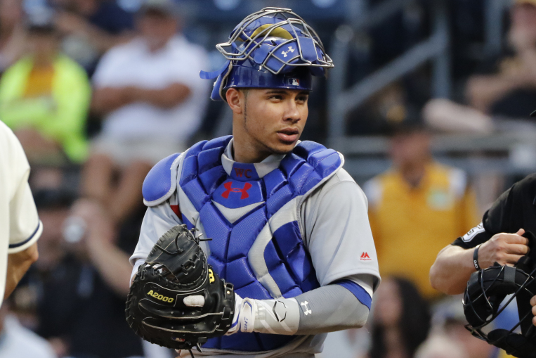 Cubs Catcher Willson Contreras (Gene J. Puskar/Associated Press)