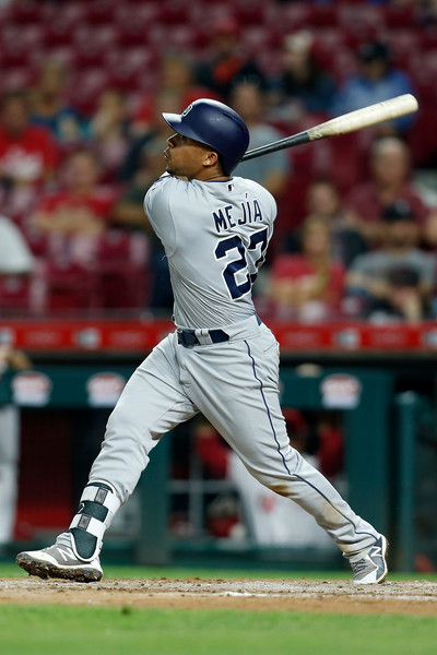 Padres Catcher Francisco Mejia (Kirk Irwin/Getty Images North America)