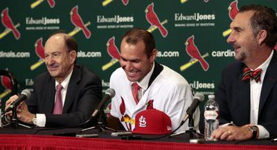 Cardinals First baseman Paul Goldschmidt (Photo by Robert Cohen)